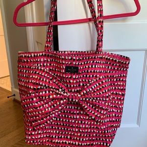Kate Spade colorful bow tote